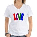 LOVE & Friendship Women's V-Neck T-Shirt