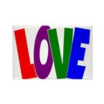 LOVE & Friendship Rectangle Magnet
