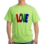 LOVE & Friendship Green T-Shirt