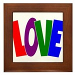 LOVE & Friendship Framed Tile
