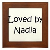 Cute Nadia Framed Tile