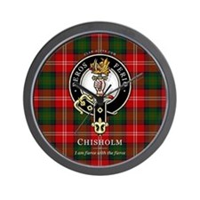 Clan Chisholm Wall Clock