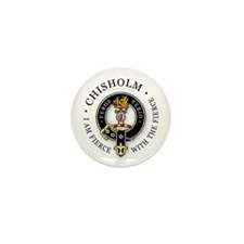 Clan Chisholm Mini Button (10 pack)