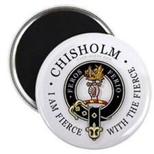 "Clan Chisholm 2.25"" Magnet (10 pack)"