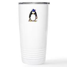 Baseball penguin Travel Mug