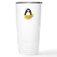 Coffee penguin Travel Mug