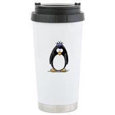 Princess penguin Ceramic Travel Mug