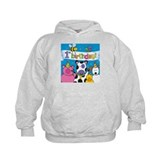 1st Birthday Party Animals Hoodie