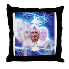 David Icke Throw Pillow