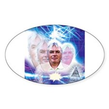 David Icke Oval Decal