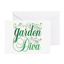 Garden Diva Greeting Cards (Pk of 10)