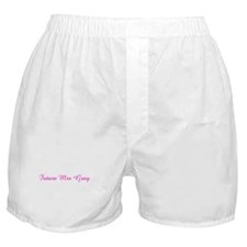 Future Mrs Gray Boxer Shorts