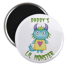 Daddy's Lil Monster Magnet