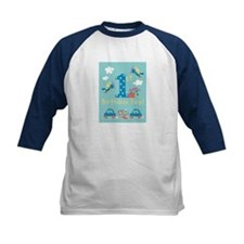 1st Birthday - Planes, Trains, & Cars Tee