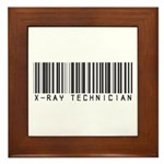 X-Ray Tech Barcode Framed Tile