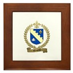 ROCHETTE Family Crest Framed Tile