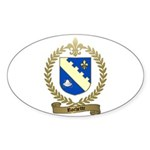 ROCHETTE Family Crest Oval Sticker