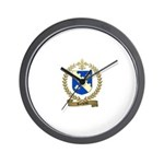 ROCHETTE Family Crest Wall Clock