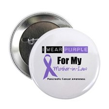 "I Wear Purple (MIL) 2.25"" Button (10 pack)"