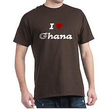 I HEART GHANA T-Shirt