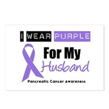 I Wear Purple (Husband) Postcards (Package of 8)