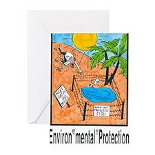 "Environ""mental"" Protection Greeting Cards (Pk of 1"