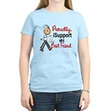 I Support My Best Friend 1 (SFT LC) T-Shirt