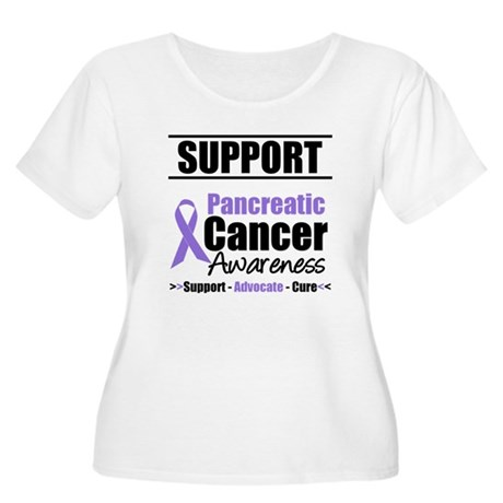 SupportPancreaticCancerAwareness Women's Plus Size