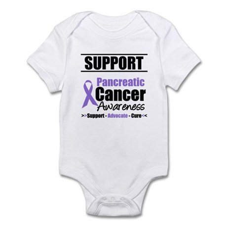 SupportPancreaticCancerAwareness Infant Bodysuit