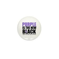 Purple is The New Black Mini Button (10 pack)