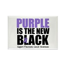 Purple is The New Black Rectangle Magnet (10 pack)