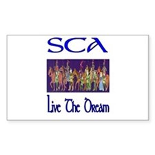 SCA 101 Rectangle Decal