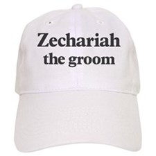 Zechariah the groom Baseball Cap