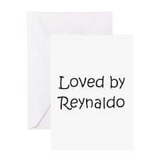 Unique Reynaldo's Greeting Card