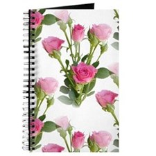 Beautiful Pink Roses Journal