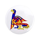 "Kells Bird 3.5"" Button"