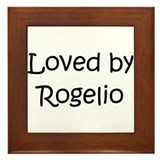 Cute Rogelio Framed Tile