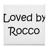 Cool Rocco Tile Coaster