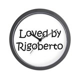 Cute Rigoberto Wall Clock