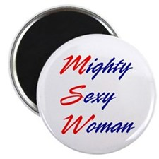 Mighty Sexy Woman Magnet