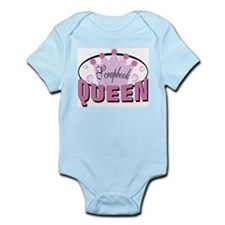 Srapbook Queen Infant Bodysuit