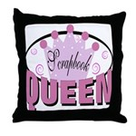 Srapbook Queen Throw Pillow