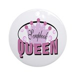 Srapbook Queen Ornament (Round)