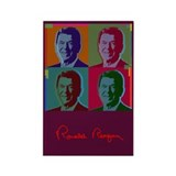 Ronald Reagan Rectangle Magnet