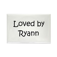 Cute Ryann Rectangle Magnet (10 pack)