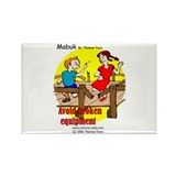 Playground Safety Rectangle Magnet (100 pack)