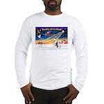 XmasSunrise/ 2 OES Long Sleeve T-Shirt