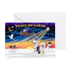 XmasSunrise/ 2 OES Greeting Card