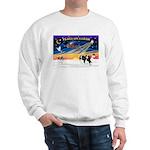 XmasSunrise/2 Cavaliers (t) Sweatshirt