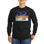 XmasSunrise/2 Silky Ter Long Sleeve Dark T-Shirt